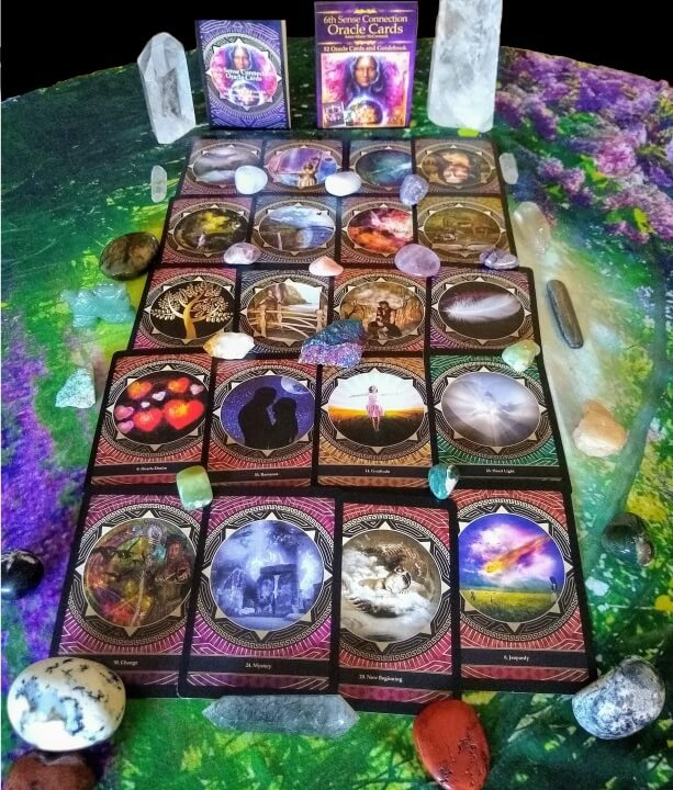 6th Sense Connection Oracle Cards